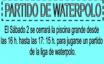 SÁBADO 2 PARTIDO WATERPOLO