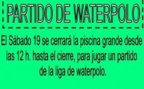 19 ENERO PARTIDO WATERPOLO